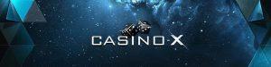 CasinoX bonus deposit